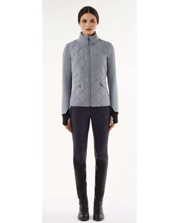 Blouson CT - Argyle Quilted Jersey Jacket 3900 - S GID181JE057 Cavalleria Toscana Parkas & Doudounes