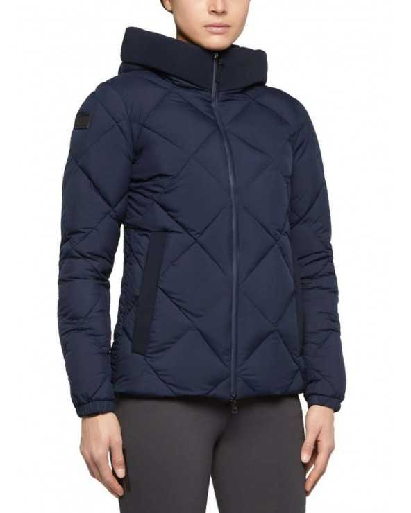 Blouson CT - Quilted Nylon Hooded Purfer Fleece - Gris foncé - 8400 GID227 NY039 Cavalleria Toscana Parkas & Doudounes
