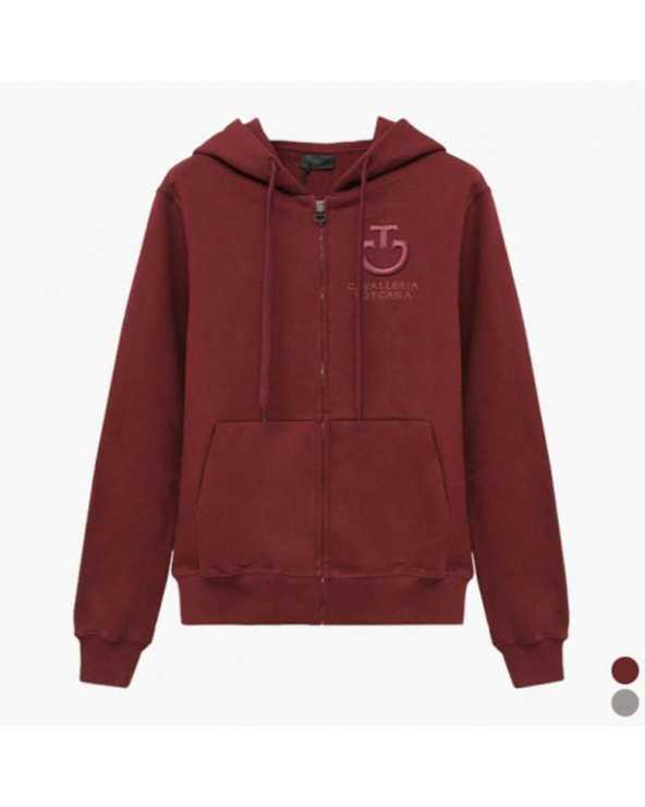 Gilet CT - Hooded Sweatshirt FED074 CO045 Cavalleria Toscana Sweat Shirt & Pull