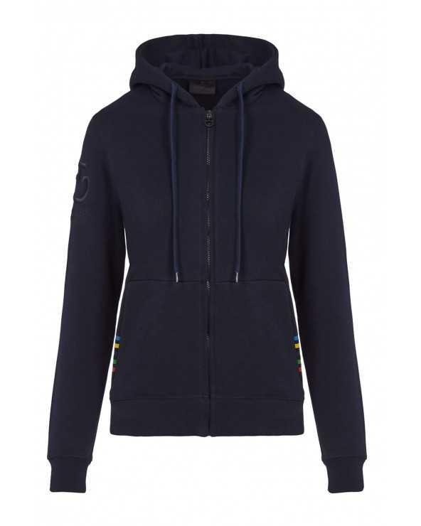Sweat CT - Tokyo 2020 Hooded - Bleu marine - 7901 FED078 CO060 Cavalleria Toscana Sweat Shirt & Pull