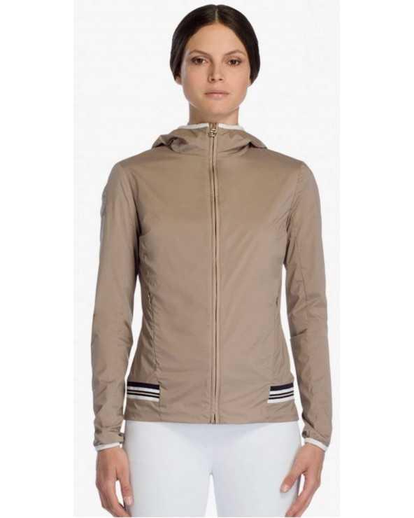 Veste Sportswear CT - Nylon Hooded Jacket - Beige - 1003 GID220 NY058 Cavalleria Toscana Parkas & Doudounes