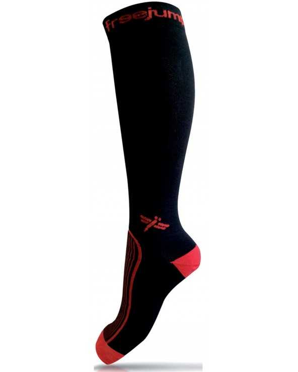 Chaussette Freejump, Black/Red 43/46 CH-FREE-J-B/R Freejump Chaussettes