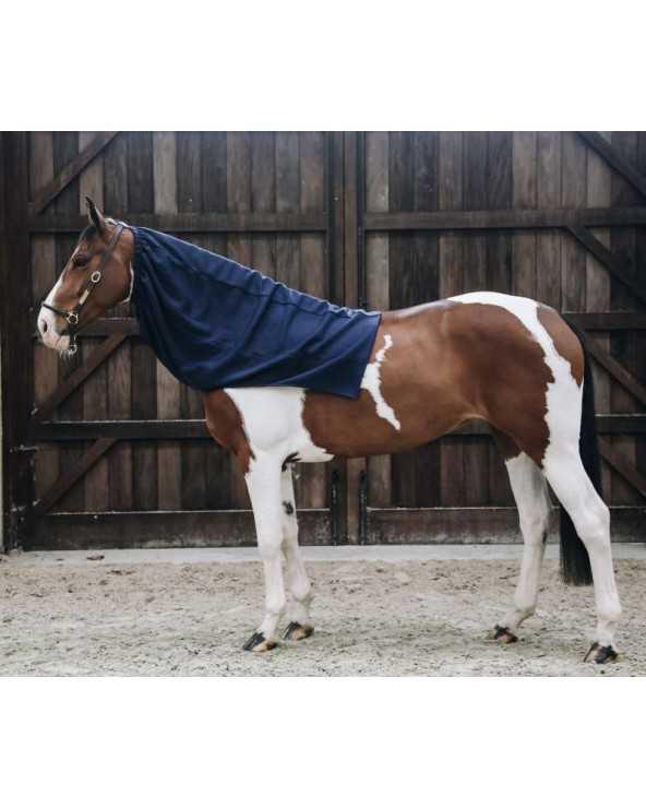 Echarpe polaire pour chevaux - Bleu marine 52123 Kentucky Accessoires de Couverture