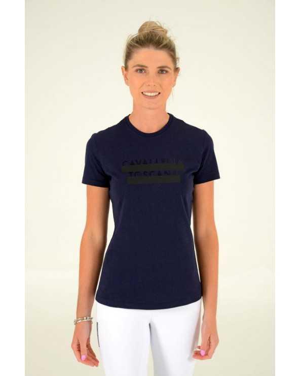 Tee-shirt Cavalleria Toscana - Peekaboo TSD033 CO057 Cavalleria Toscana T-Shirts