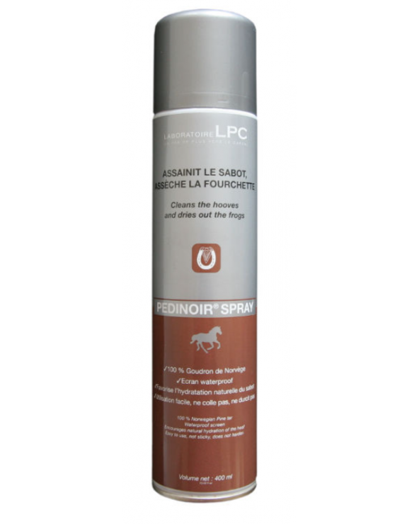Laboratoires LPC - Pedinoir spray 400 mL PEDINOIRSPRAY400ML Compositi Soins des Pieds