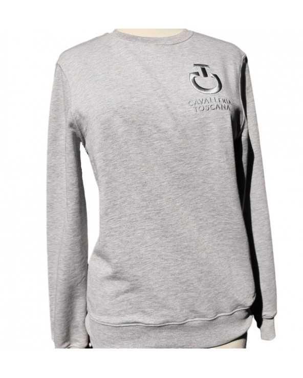 Sweat CT - Crew Neck Sweatshirt FEU073 CO045 Cavalleria Toscana Sweat Shirt & Pull