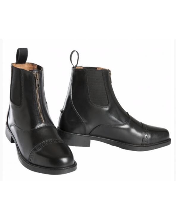 Boots Equithème zip cuir 914060 Equithème Boots