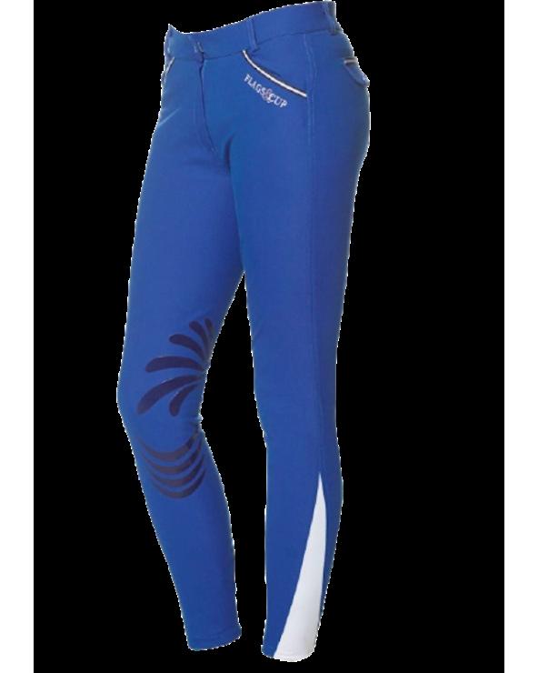 Pantalon Cayenne Flags & Cup - Bleu Roi 902812 Flags and Cup Pantalons
