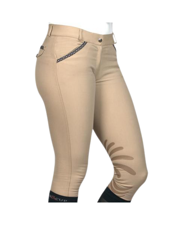 Pantalon Florida Flags & Cup - Beige 902892 Flags and Cup Pantalons
