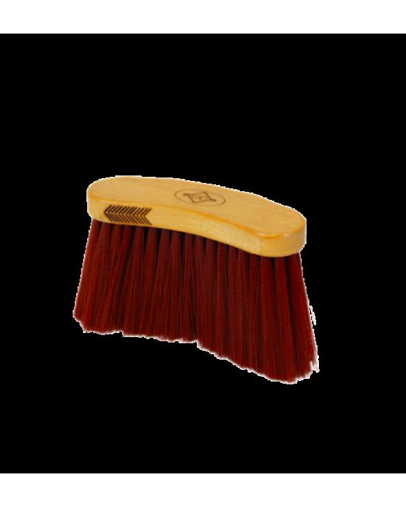 Brosse Longue Grooming Deluxe - Chocolat 82139 Grooming Deluxe Soins & Pansage