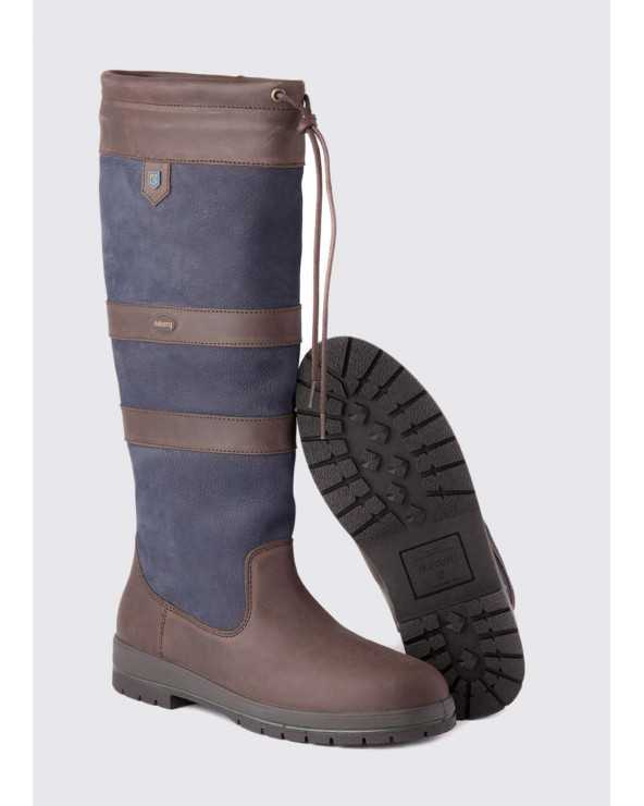 Bottes Galway - Navy/Brown Galway-Navy Dubarry Bottes
