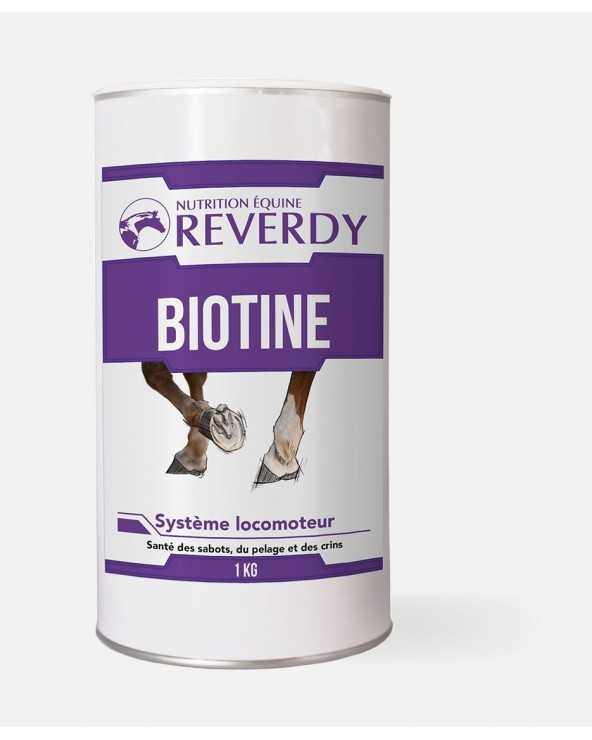 Biotine - 1KG BIOTINE1 Reverdy Biotine, complément minéral