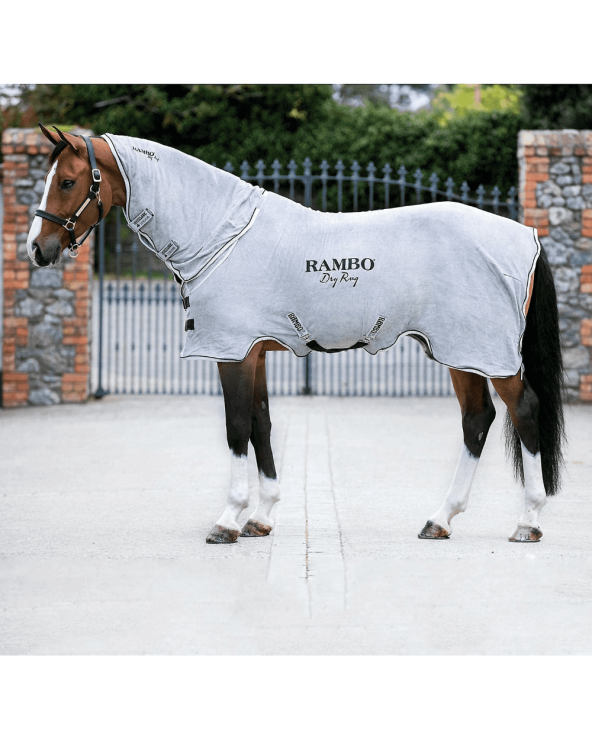 Couverture Séchante, Rambo, Dry rug ABAM52 Horseware Chemises polaires & séchantes